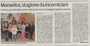 """Articolo de """"Il Mattino"""" di Padova del 28 ottobre 2014"""